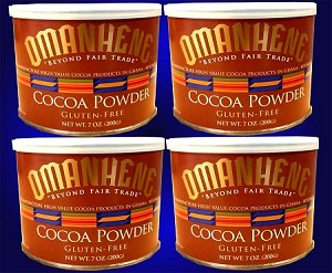 4 Pack of Natural Cocoa Powder- FREE SHIPPING